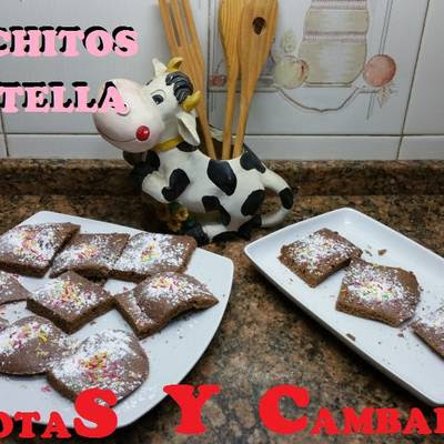 Bizcochitos de nutella riquisimosssssss