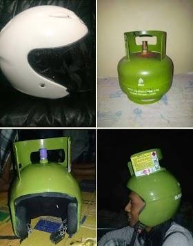 Gambar Helm Unik
