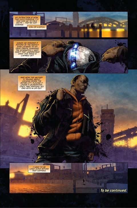 Infamous Comic Book Part 1