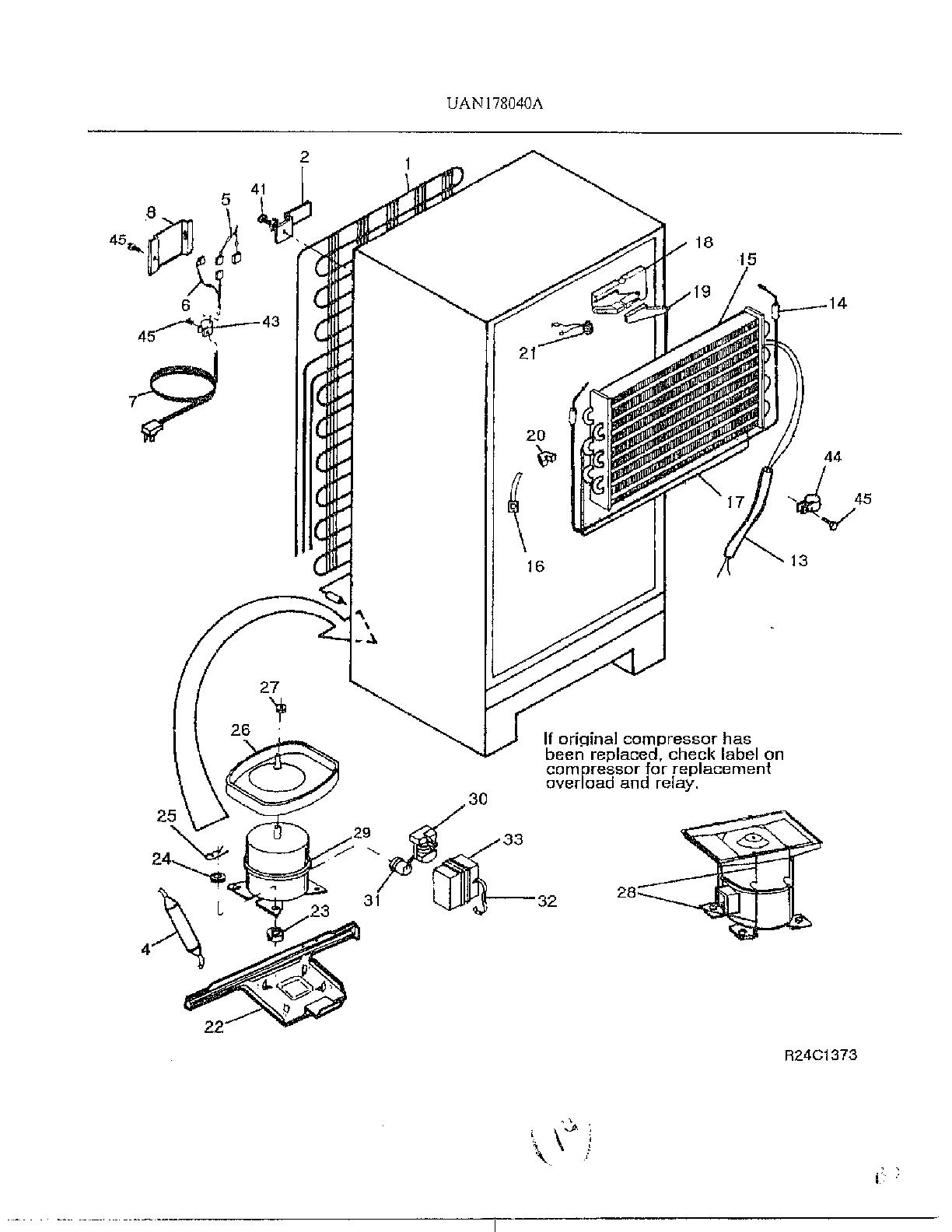 Refrigerators Parts: Refrigeration Compressor Parts