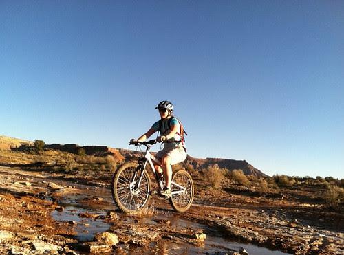 biking mud