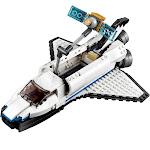 LEGO Creator 3-in-1 Space Shuttle Explorer Building Kit - 285 pieces
