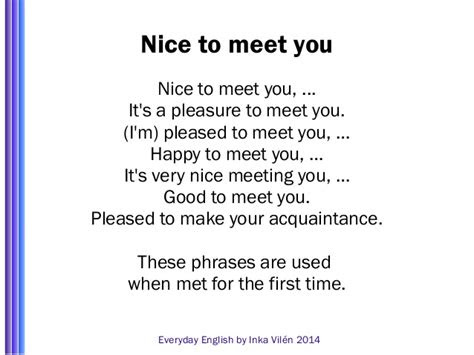 It Was Nice Meeting You Quotes