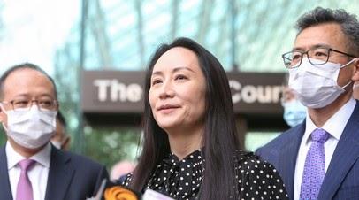 Минюст Канады разрешил финдиректору Huawei Мэн Ваньчжоу покинуть страну