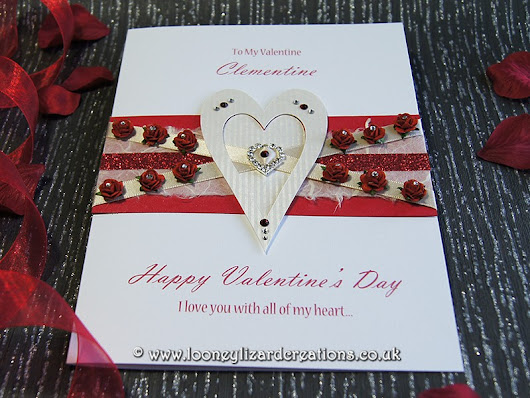 A Dozen Red Roses - Luxury Valentines Card