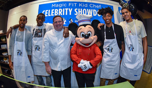 Orlando Magic Players Participate in First Ever Magic FIT Kid Chef Celebrity Showdown