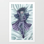 Father Gascoigne(Human) Body Pillow Art Print by Sockless - X-Small