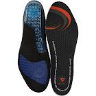 Sof Sole Men's Airr Insole, Blue/Orange/Black, Size 7-8.5