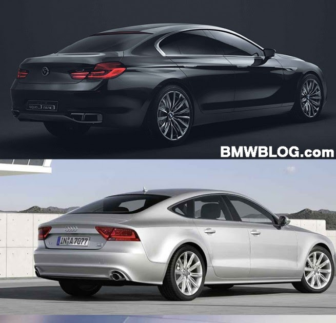 Photo Comparison 2018 Audi A7 Vs Bmw 6 Series Gran Turismo: Photo Comparison: BMW Gran Coupe Vs. 2011 Audi A7 Vs. 2011