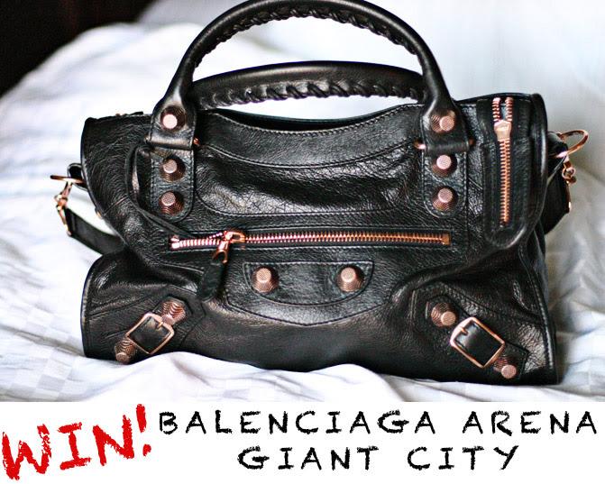 Balenciaga Arena Giant City Bag, Fashion, Kardashian, Nicole Richie, Barneys New York