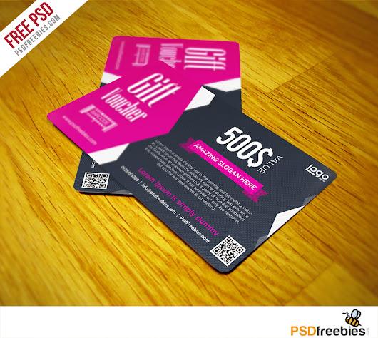 Gift Voucher Coupon Free PSD Template | PSDFreebies.com
