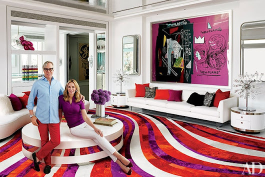 Fashion Designer Tommy Hilfiger's Vibrant Home in Miami | Architectural Digest