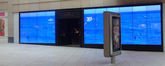 Businesses Switch On the Benefits of Video Displays