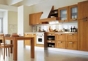 China 18mm Transitional Thailand Oak Kitchen Furniture ...
