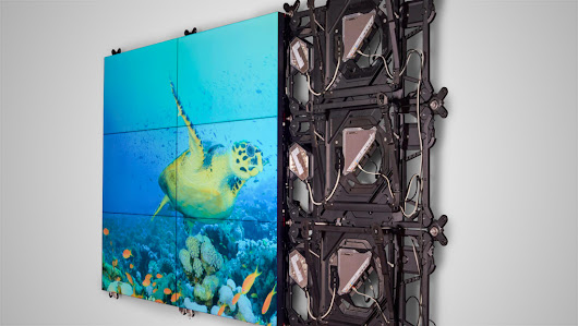 Barco unveils new LCD video wall display, UniSee