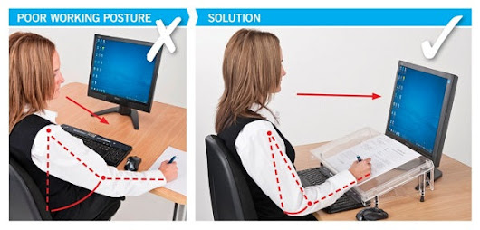 Returning to work after the break doesn't have to be a pain in the neck.