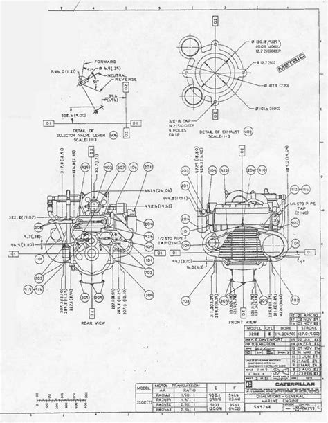 3208 Cat Engine Parts Diagram | Automotive Parts Diagram