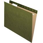 Pendaflex Letter Size Hanging File Folders, Green - 50 count