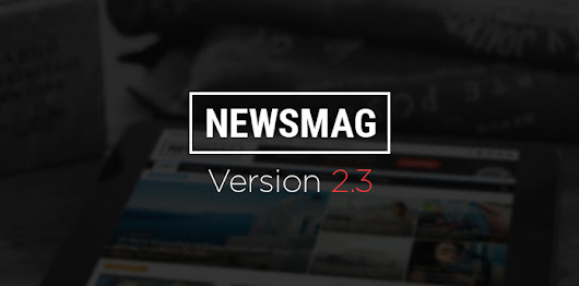 Newsmag 2.3 update - tagDiv