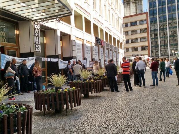 Centros administrativos do HSBC ficarão fechados nesta terça-feira (9), segundo o sindicato (Foto: Divulgação/ Sindicato dos Bancários de Curitiba e Região )