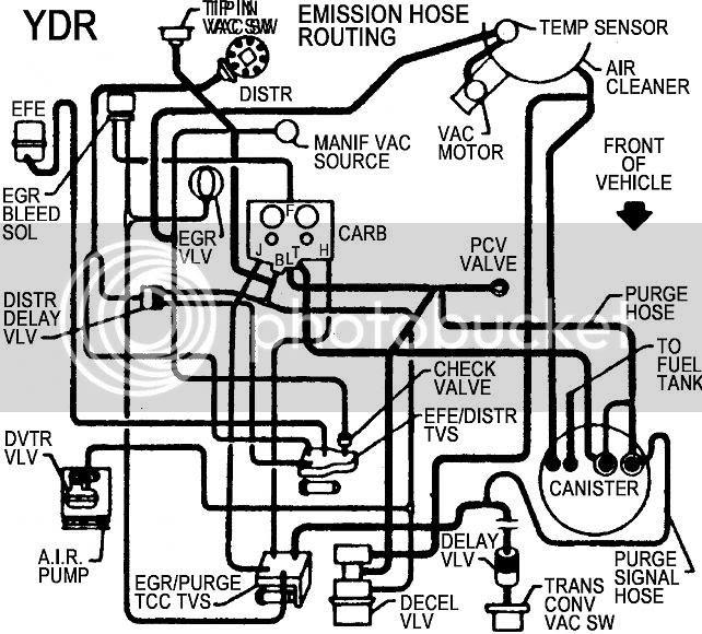 28 1986 Chevy Truck Vacuum Diagram
