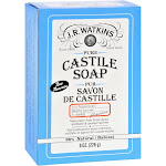 J R Watkins Bar Soap Castile Peppermint 8 oz