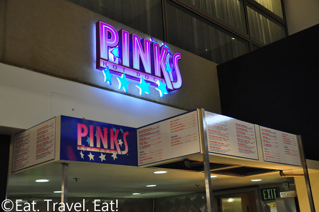 Pinks Hot Dogs @ LAX