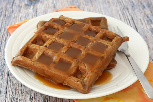 Easy Chocolate Waffles