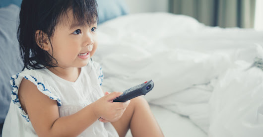 Study finds 4-year-olds are spending two hours a day In front of screens