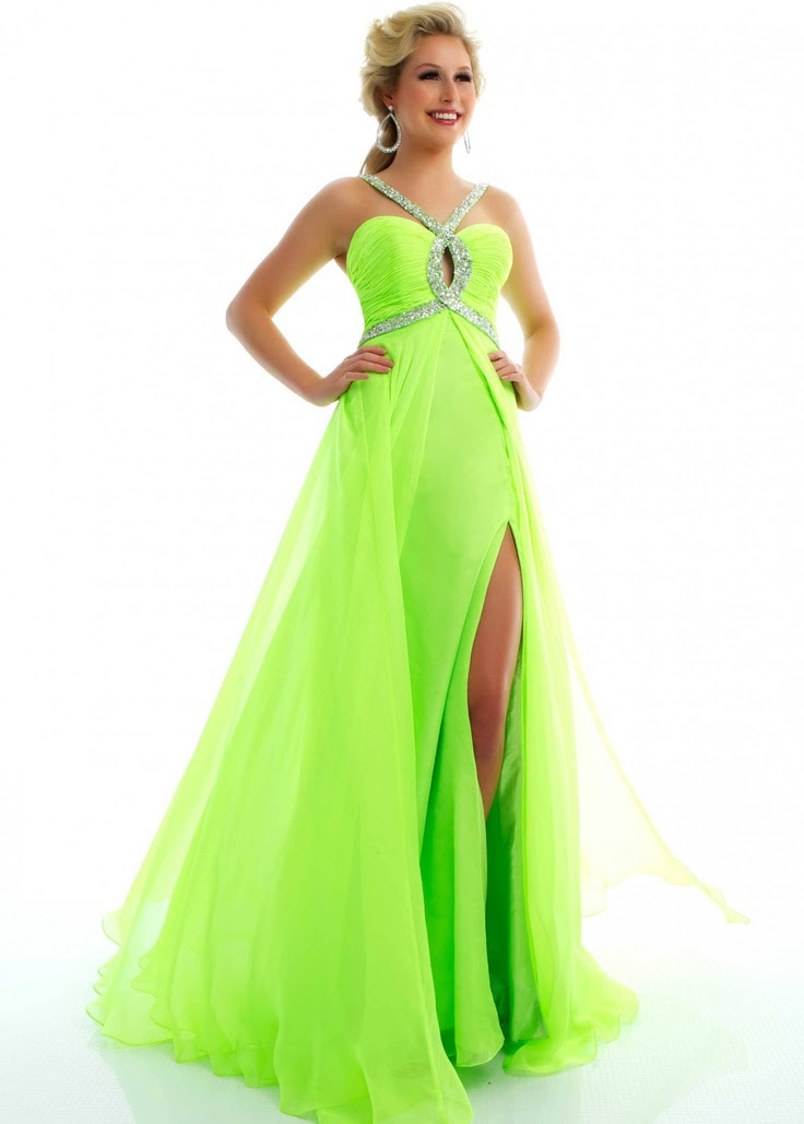 lime green dressing gown   Fashion Wallpaper