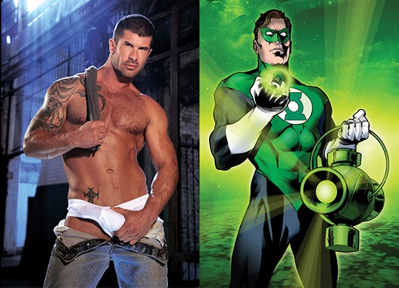 green lantern comic gay porn