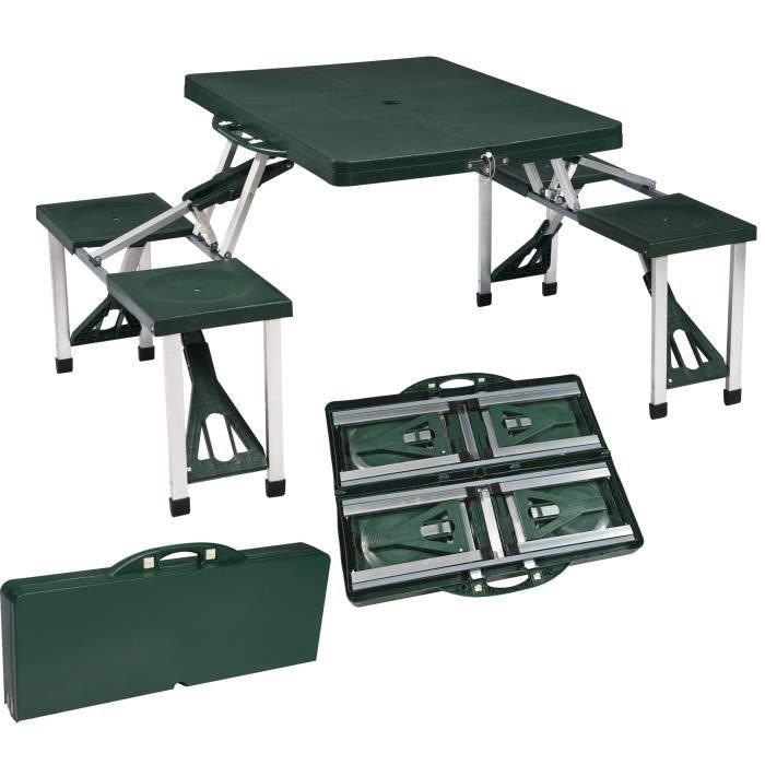 table et chaises de terrasse table picnic pliante. Black Bedroom Furniture Sets. Home Design Ideas