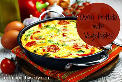 Oven Frittata with Vegetables - An Easy and Healthy Brunch or Dinner