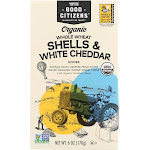 Good Citizens Organic Whole Wheat Shells and White Cheddar Dinner (12pk)