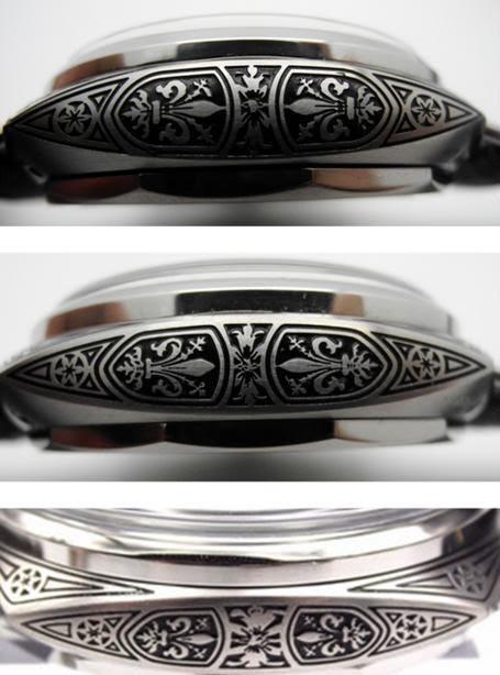 PAM 604 Left Case Engraving