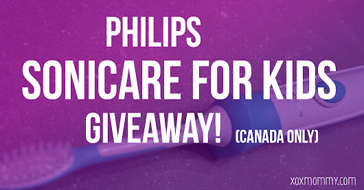 Philips Sonicare for Kids {Giveaway!} » xox Mommy