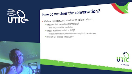 Is translation technology getting the better of us? How we need to make sure that we stay ahead of the technological curve. UTICamp-2016