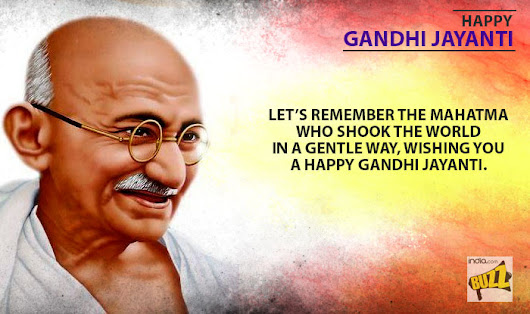 Gandhi Jayanti Wishes 2018 - WhatsApp Text | Jokes | SMS | Hindi | Indian