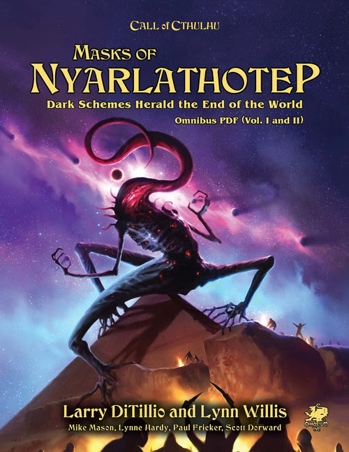 Masks of Nyarlathotep - Leatherette Slipcase Set