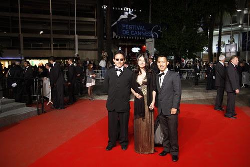 Fooi Mun, Ming Jin and I on red carpet