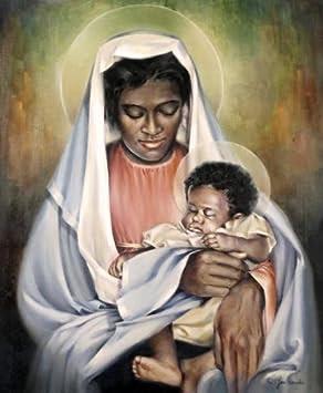 Black Madonna and Child by Joe Cauchi
