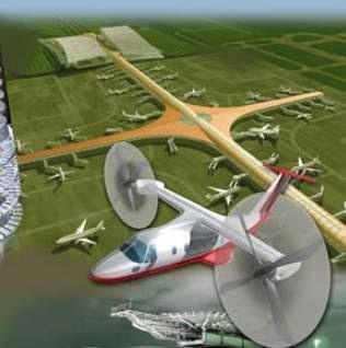 Aviões do futuro poderão reutilizar sua própria energia