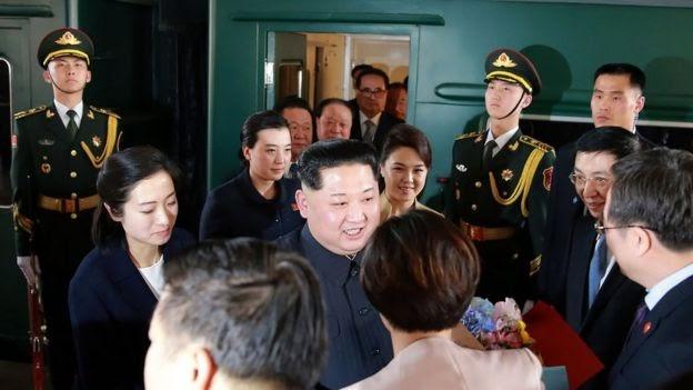 Kunjungan Misterius Kim Jong-un  ke Beijing Naik Kereta Api Anti Peluru