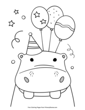 Happy Birthday Coloring Pages • FREE Printable PDF from ...