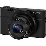 Sony Cyber-Shot DSC-RX100 20.2 MP Compact Digital Camera - Black
