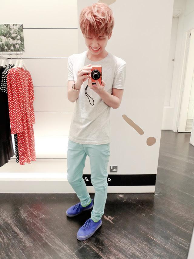 typicalben sky blue pants