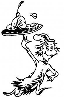 dr seuss coloring pages  clipart panda  free clipart images