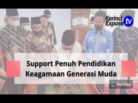 Wako Ahmadi Resmikan Madrasah Tahfidz Al Muhlisin Koto Tinggi