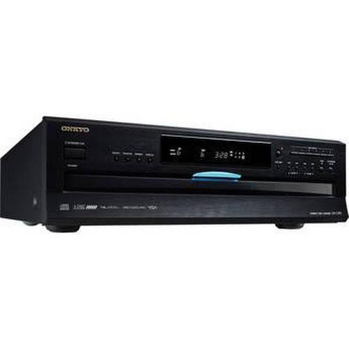 Onkyo DXC390 6-Disc Carousel Changer CD Player, Black