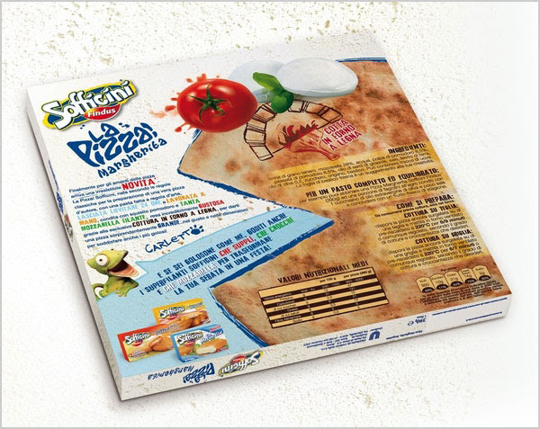 Sofficini La Pizza Packaging Design Ideas 4 25+ Sour & Spicy Pizza Packaging Design Ideas